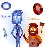 Moonstone And Cinnabar