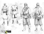 Pirate modelsheet