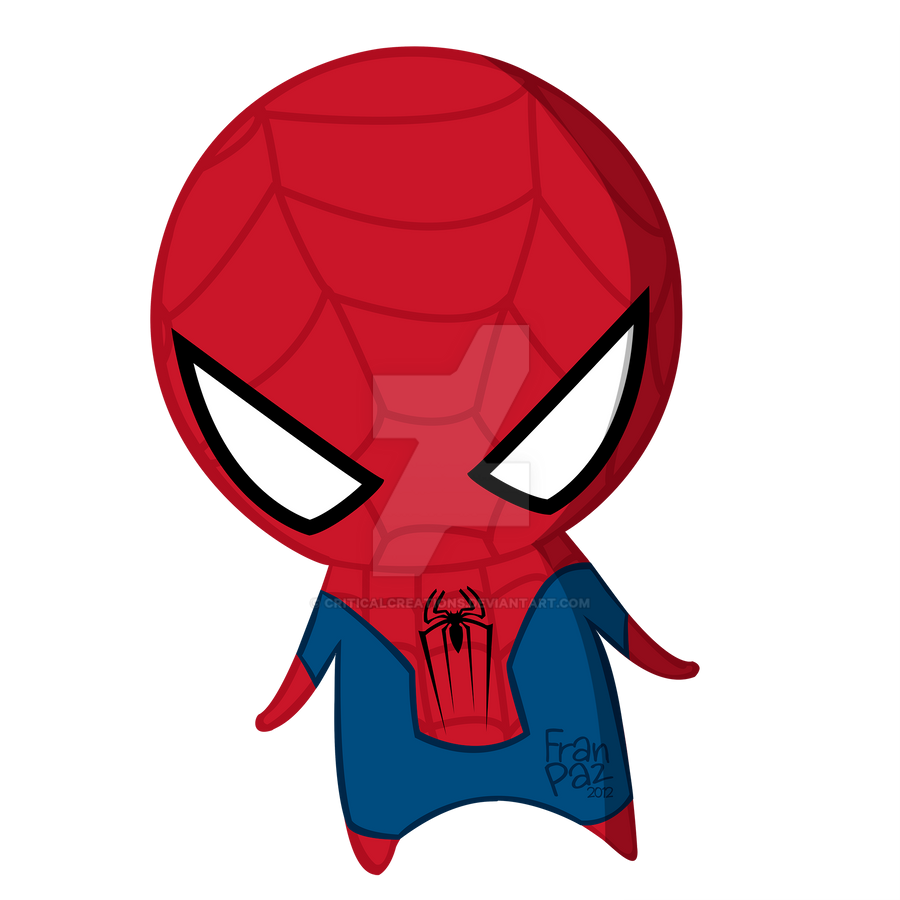Chibi Spiderman by criticalcreations on DeviantArt