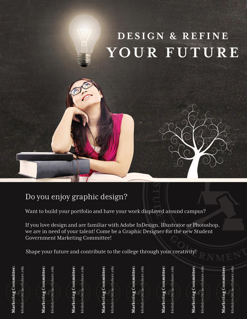 College Flyer: Design And Refine Your Future by katdesignstudio