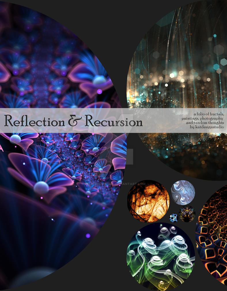 Book Cover Design - Reflection and Recursion by katdesignstudio