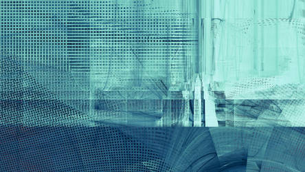 Gateway to Cerulean, Tech City by technochroma