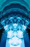 Chandelier Blu