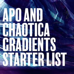 Gradients for Chaotica and Apophysis: A Quick List