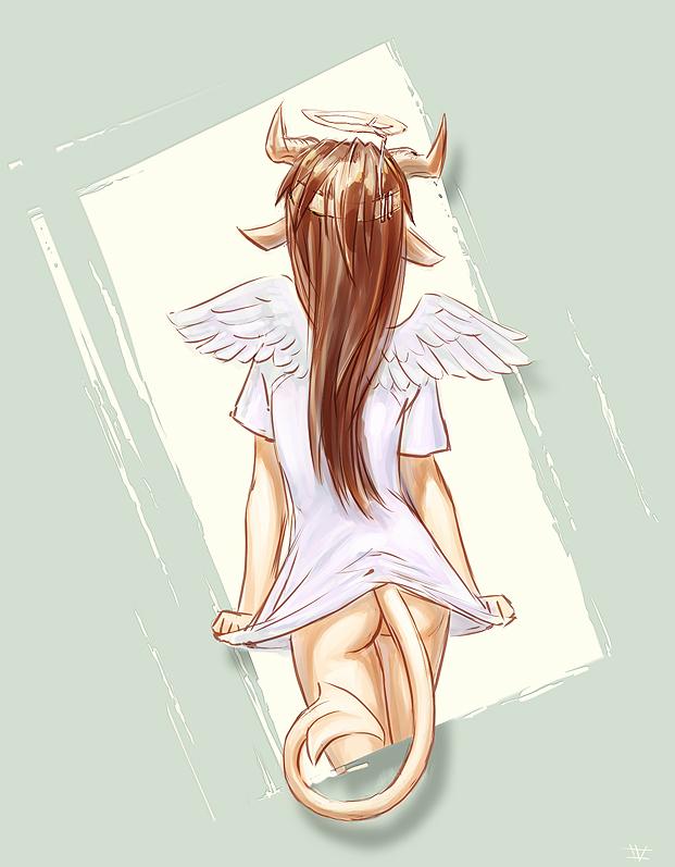 Fake Wings by vidagr