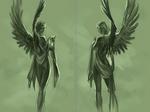 Head Protecting Angels sketch