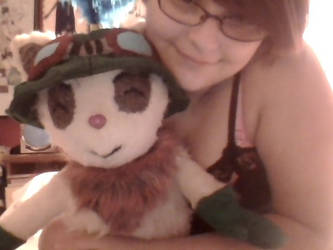 My Teemo doll by katiefoss