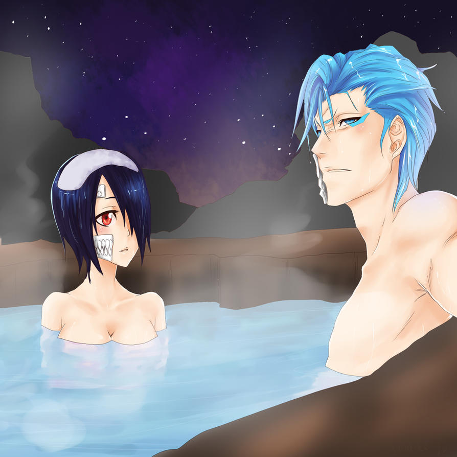 Commision soul-espade OC x Grimmjow by hannitee