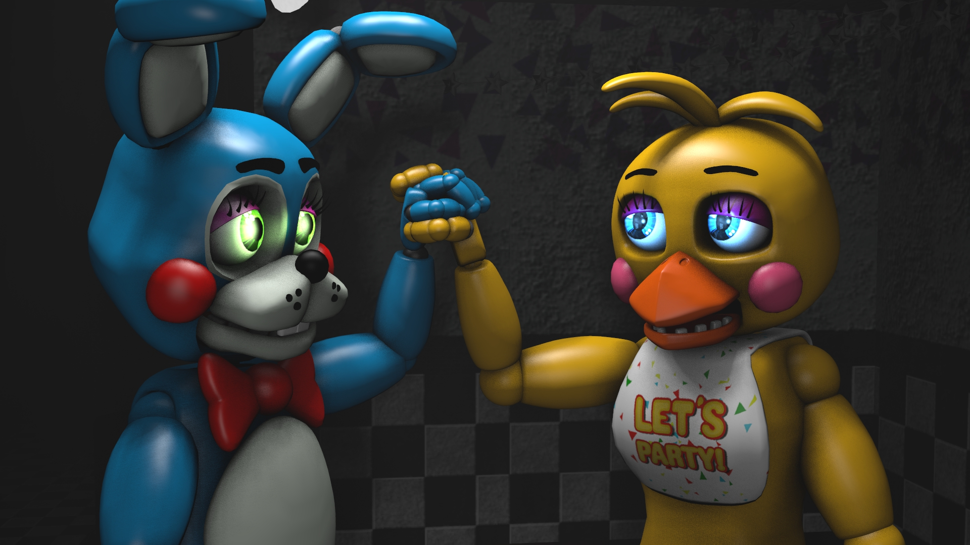 art toy chica wallpaper - photo #49