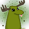 GREEN MOOSE by PromotedLoser