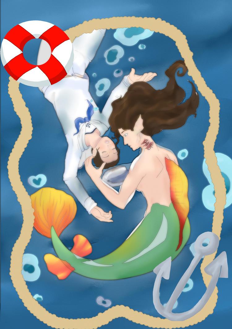 My lil Mermaid by nouge