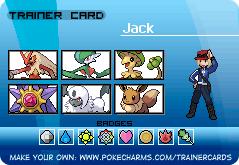 Pokemon Trainer Jack! by AttackOfTheJack