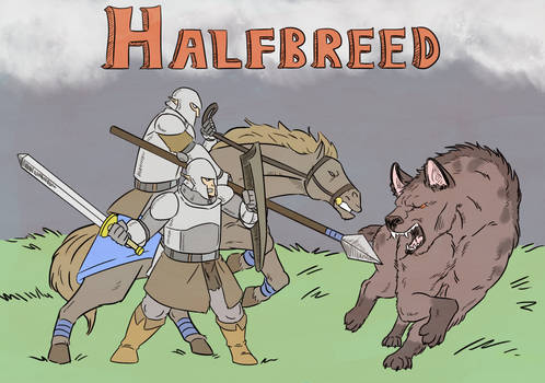 HALFBREED COVER #1 Color