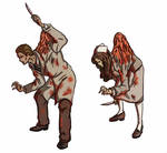 Puppet Nurse and Puppet Doctor (Silent Hill 1) by PlsGoot