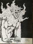 Oso de Fuego Tintas - Fire Bear Inks by PlsGoot