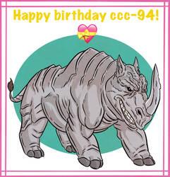 Happy Birthday ccc-94!