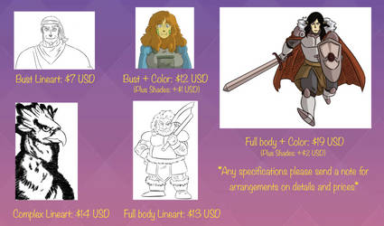 Comisiones Abiertas - Commissions Open
