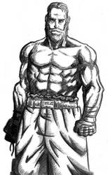 Boceto a lapiz - Pencil sketch