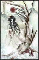 Yuki-Onna by japanmeonly