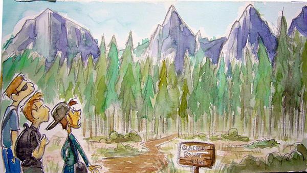 Yosemite Art by Rickyanimation