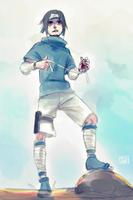 sasuke by meodwarf