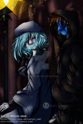 Contest entry for LostWigh - Creepy Frozen Pasta by Deaki-chan