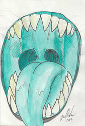 Monster Mouth by LeonidasDraconic