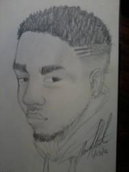 Kendrick Lamar drawing :)