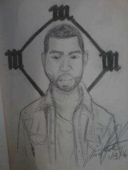 Kanye West drawing practice :)