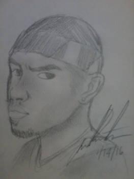 Frank Ocean drawing :)