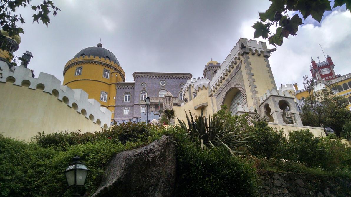 Pena Palace, Sintra, Portugal (3) by dsazor