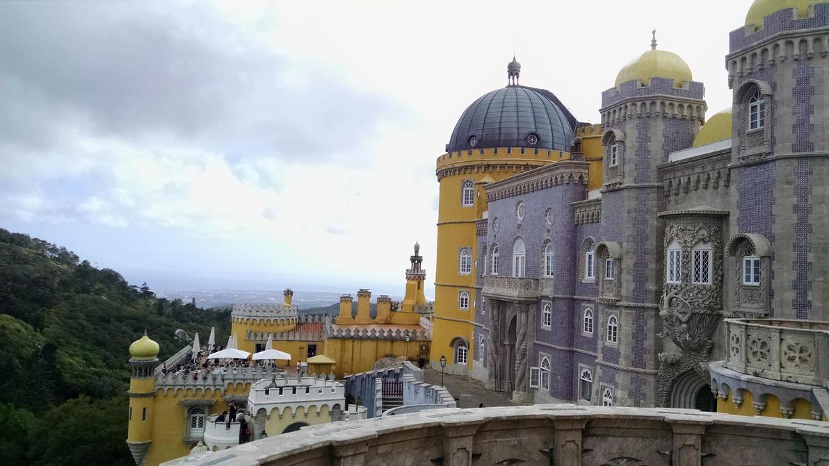 Pena Palace, Sintra, Portugal (4) by dsazor