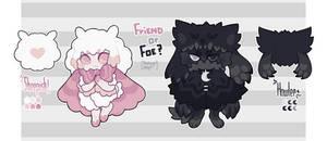 Friend or Foe - Nudinym Adopt CLOSED
