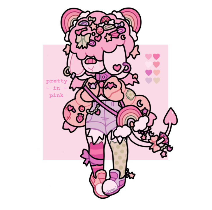 [ADOPT] pretty in pink [CLOSED]