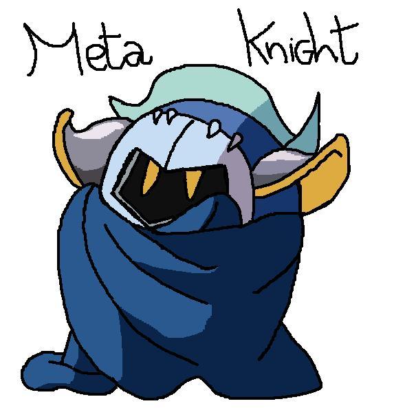 .Meta Knight. by ConiKirbyKirby