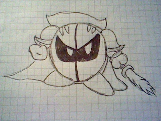 Meta Knight x3 by ConiKirbyKirby