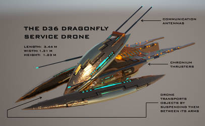 D-36 Dragonfly Service Drone