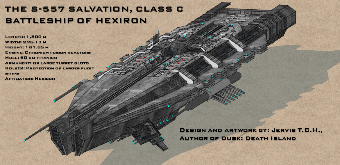 S-557 Salvation Battleship of