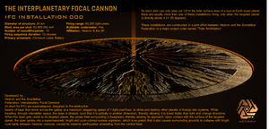 Interplanetary Focal Cannon (IFC) Installation