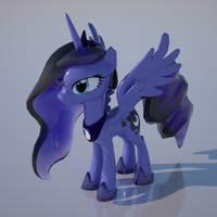 Princess Luna (ULTRA HD) by Duskie-06
