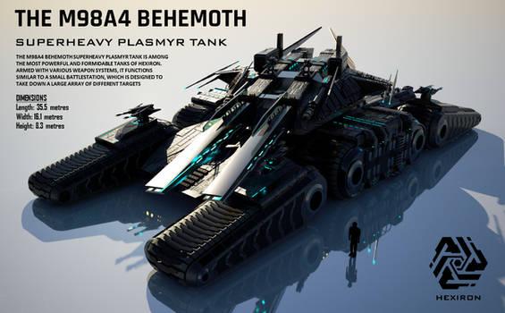 M98A4 Behemoth Superheavy Plasmyr Tank (FULL HD)