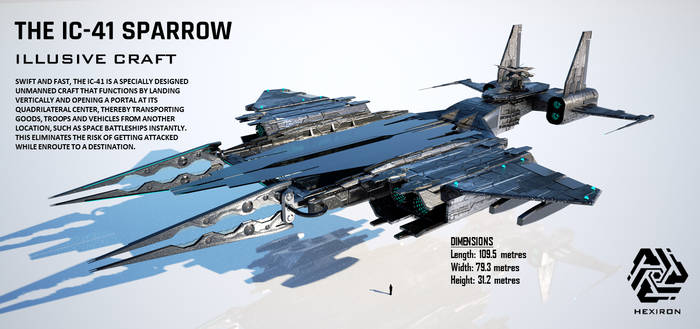 IC-41 Sparrow Illusive Craft