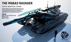 M46A3 Ravager Main Battle Tank (FULL HD)