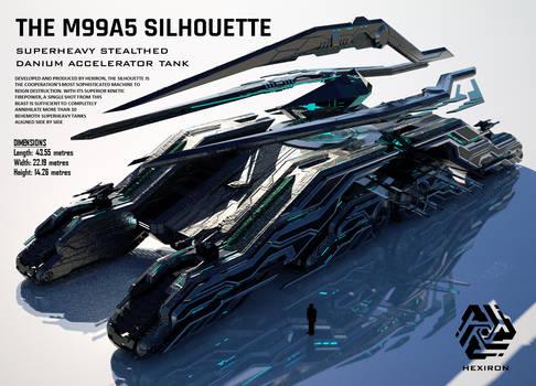 M99A5 Silhouette Danium Accelerator Tank (UPDATED)