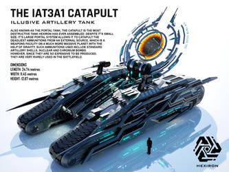 IAT3A1 Catapult Illusive Artillery Tank by Duskie-06