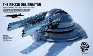 RE-238 Obliterator Superheavy Railgun Emplacement