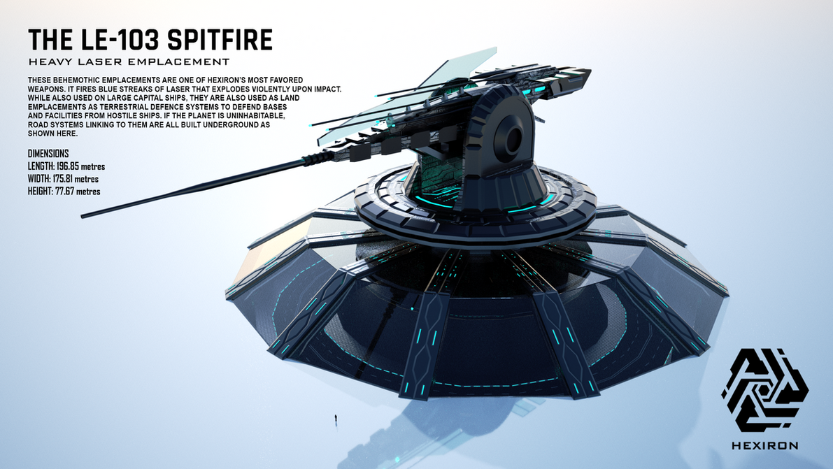 Le 103 Spitfire Heavy Laser Emplacement By Duskie 06 On