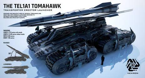 TEL1A1 Tomahawk Transporter Erector Launcher