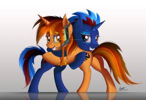 Friendship hug by Duskie-06