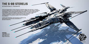 S-88 Sterelis Strategic Frigate